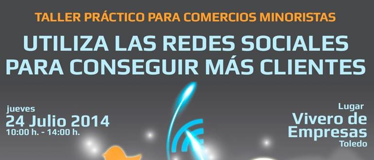 Taller Redes Sociales Toledo. Impartido por Creativia