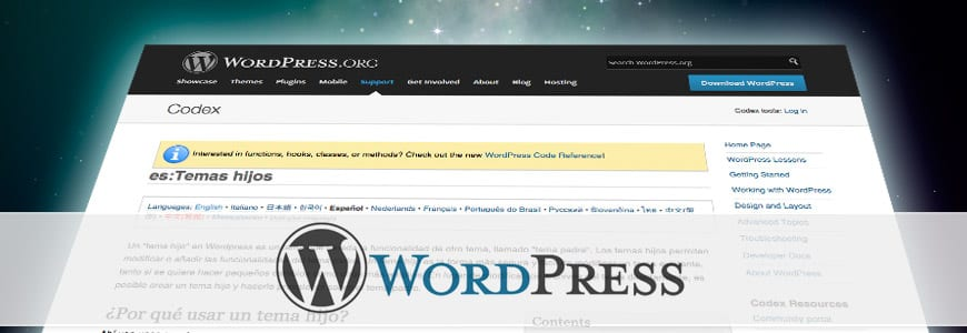 Tutorial crear child-theme WordPress