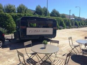 Food Truck La Mafia se sienta en la mesa