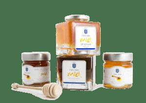 packaging miel casa de alba