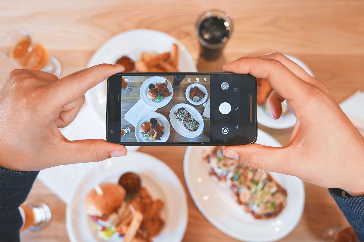 redes sociales restaurante