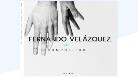 Fernando Velazquez Web Compositor
