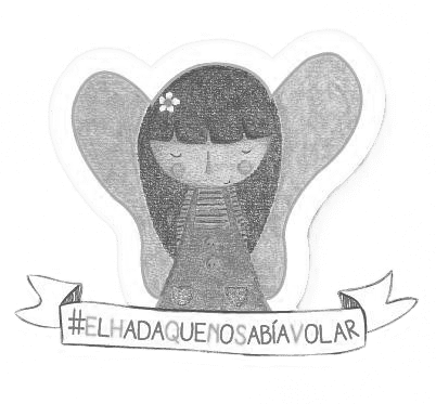 Campaña solidaria a favor de El hada que no sabía volar. Libro de Alba Barón y Raquel Blázquez, creado para recaudar fondos para Xana.