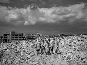 Ladrillo Solidario, reconstrucción Alepo