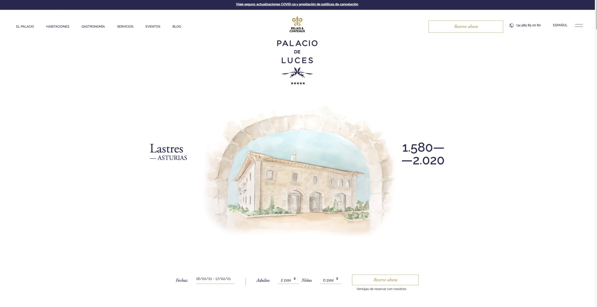 CoolRooms - Palacio de Luces